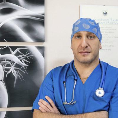 Il chirurgo vascolare dott. Umberto De Rosa